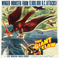 "Movie Posters:Science Fiction, The Giant Claw (Columbia, 1957). Six Sheet (79.5"" X 80.25"").. ..."