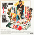 "Movie Posters:James Bond, Live and Let Die (United Artists, 1973). International Six Sheet(78"" X 79"").. ..."