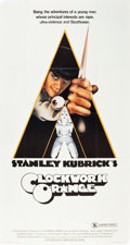 "Movie Posters:Science Fiction, A Clockwork Orange (Warner Brothers, 1971). Three Sheet (41"" X 81"")X-Rated Style. Science Fiction.. ..."