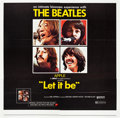 """Movie Posters:Rock and Roll, Let It Be (United Artists, 1970). Six Sheet (79.5"""" X 78"""").. ..."""
