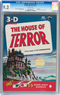 Golden Age (1938-1955):Horror, House of Terror #1 (St. John, 1953) CGC NM- 9.2 Off-white pages....