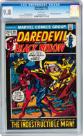 Bronze Age (1970-1979):Superhero, Daredevil #93 Curator pedigree (Marvel, 1972) CGC NM/MT 9.8 Whitepages....
