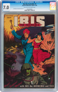Golden Age (1938-1955):Science Fiction, Ibis The Invincible #3 (Fawcett Publications, 1945) CGC FN/VF 7.0Light tan to off-white pages....