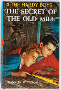 Books:Children's Books, Franklin W. Dixon. The Secret of the Old Mill. Grosset &Dunlap, 1962. Later edition. Owner's name. Near fine....