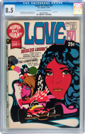 Bronze Age (1970-1979):Romance, Super DC Giant #21 Love 1971 (DC, 1971) CGC VF+ 8.5 Cream tooff-white pages....