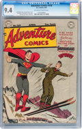 Golden Age (1938-1955):Superhero, Adventure Comics #139 (DC, 1949) CGC NM 9.4 Off-white to white pages....