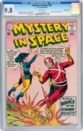 Silver Age (1956-1969):Science Fiction, Mystery in Space #85 Western Penn pedigree (DC, 1963) CGC NM/MT 9.8 White pages....