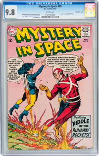Mystery in Space #85 Western Penn pedigree (DC, 1963) CGC NM/MT 9.8 White pages