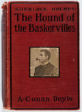 Books:Mystery & Detective Fiction, A. Conan Doyle. The Hound of the Baskervilles. Grosset &Dunlap, 1902. Front hinge broken. Chipping to spine head. P...