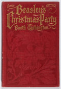Books:Fiction, Booth Tarkington. Beasley's Christmas Party. Harper, 1909. First edition, first printing. Owner's name. Hinges crack...