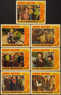 "Movie Posters:Western, In Old Monterey (Republic, 1939). Lobby Cards (7) (11"" X 14"").Western.. ... (Total: 7 Items)"