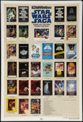 "Movie Posters:Science Fiction, Star Wars Checklist (Killian, 1985). Poster (27"" X 40"") DS. Science Fiction.. ..."