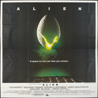 "Alien (20th Century Fox, 1979). International Six Sheet (76"" X 76""). Science Fiction"
