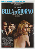 "Movie Posters:Foreign, Belle de Jour (Allied Artists, 1967). Italian 4 - Foglio (55"" X 79""). Foreign.. ..."