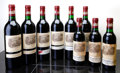Red Bordeaux, Chateau Lafite Rothschild. Pauillac. 1986 3sdc, 1spc,different importers Bottle (6). 1986 3hwasl, 2lnc Half-Bot...(Total: 6 Btls. & 3 Halves. )