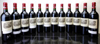 Chateau Lafite Rothschild 2000 Pauillac different importers Bottle (12)