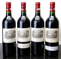 Red Bordeaux, Chateau Lafite Rothschild 2000 . Pauillac. different importers. Bottle (4). ... (Total: 4 Btls. )