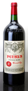 Red Bordeaux, Chateau Petrus 2005 . Pomerol. Magnum (1). ... (Total: 1Mag. )