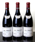 Red Burgundy, La Tache 1999 . Domaine de la Romanee Conti . 3lbsl, 1ssos,#09892, 09893, 14080. Bottle (3). ... (Total: 3 Btls. )