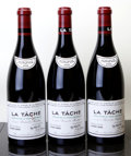 Red Burgundy, La Tache 2005 . Domaine de la Romanee Conti . 1bsl, 1lscl,#02789, 02804, 03811. Bottle (3). ... (Total: 3 Btls. )