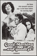 "Movie Posters:Sexploitation, Good Morning...and Goodbye! (Eve Productions, 1967). One Sheet (27"" X 41""). Sexploitation.. ..."