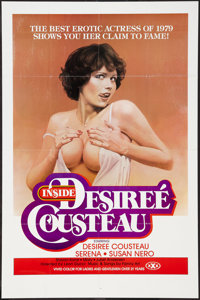 "Inside Desiree Cousteau & Other Lot (Gail, 1979). One Sheets (2) (25"" X 38""). Adult. ... (Total: 2 Ite..."