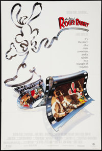 """Who Framed Roger Rabbit (Buena Vista, 1988). One Sheet (26.5"""" X 40"""") Style A. Animation"""