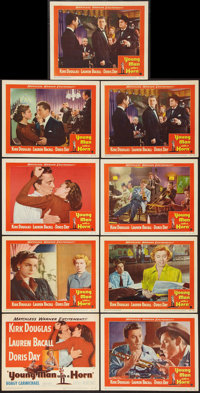 """Young Man with a Horn (Warner Brothers, 1950). Lobby Card Set of 8 & Lobby Card (11"""" X 14""""). Drama..."""