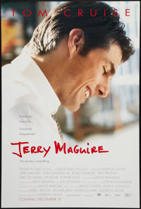 """Jerry Maguire (Tri-Star, 1996). One Sheet (26.5"""" X 39.5""""). DS Advance. Drama"""