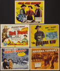 "Movie Posters:Western, Don ""Red"" Barry Lot (Republic & Various, 1940s-1950s). TitleLobby Cards (5) & Lobby Cards (6) (11"" X 14""). Western.. ...(Total: 11 Items)"