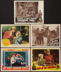 """Movie Posters:Adventure, The Royal Mounted Patrol & Others Lot (Columbia, 1941). LobbyCards (5) (11"""" X 14""""). Adventure.. ... (Total: 5 Items)"""