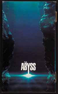 "The Abyss (20th Century Fox, 1989). Press Kit with Production Notes (Multiple Pages, 8"" X 13.5"") & Photos..."