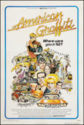 "Movie Posters:Comedy, American Graffiti (Universal, 1973). One Sheet (27"" X 41"").Comedy.. ..."