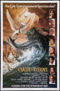 "Movie Posters:Fantasy, Clash of the Titans (MGM, 1981). One Sheets (2) (27"" X 41"") Advanceand Regular Styles. Fantasy.. ... (Total: 2 Items)"