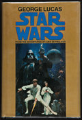 "Movie Posters:Science Fiction, Star Wars, From the Adventures of Luke Skywalker (Del Rey, 1977).Autographed Novel (183 Pages, 6"" X 8.5"") with Dustjacket. ..."