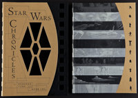 """Star Wars Chronicles (Chronicle Books, 1977). Autographed Hard Cover Book in Slip Case (315 Pages, 10.5"""" X 14.5&quo..."""