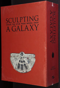 """Sculpting a Galaxy: Inside the Star Wars Model Shop (Insight Editions, 2006). Limited Edition Book (11.5"""" X 16""""..."""