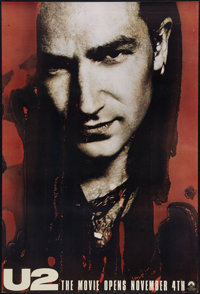 "U2: Rattle and Hum (Paramount, 1988). Autographed One Sheets (2) & One Sheets (2) (27"" X 40"") SS Advan..."