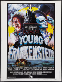 """Young Frankenstein (20th Century Fox, 1974). Autographed Poster (30"""" X 40"""") Style B. Comedy"""