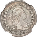 Early Quarters, 1796 25C -- Repaired, Whizzed -- NGC Details. VF. B-1, R.4....