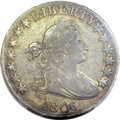 Early Half Dollars, 1806/5 50C XF45 PCGS. CAC. O-103, R.2....