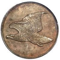 (1856) P1C Flying Eagle Cent, Judd-179, Pollock-207, Low R.7, PR65 Brown PCGS. CAC....(PCGS# 11783)