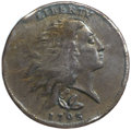 Large Cents, 1793 1C Wreath Cent, Vine and Bars VF20 PCGS. S-6, B-7, R.3....
