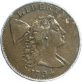Large Cents, 1794 1C Head of 1794 XF40 PCGS. S-21, B-5, R.3...