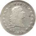 Early Dollars, 1795 $1 Flowing Hair, Three Leaves VF35 NGC. B-5, BB-27, R.1....