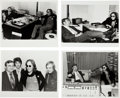 Music Memorabilia:Photos, John Lennon Photo Group (c. 1974).... (Total: 13 Items)