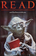 "Movie Posters:Science Fiction, The Empire Strikes Back (American Library Association, 1983).Library Poster (22"" X 34""). Yoda Style. Science Fiction.. ..."