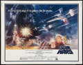 "Movie Posters:Science Fiction, Star Wars (20th Century Fox, 1977). Half Sheet (22"" X 28"") Style A.Science Fiction.. ..."