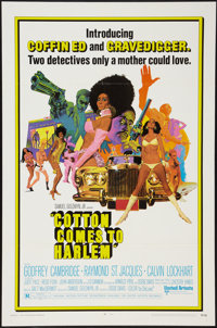 "Cotton Comes to Harlem & Other Lot (United Artists, 1970). One Sheets (2) (27"" X 41""). Blaxploitation..."