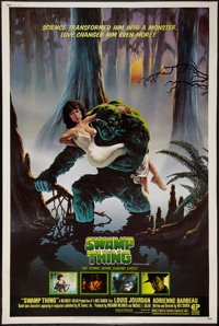 """Swamp Thing (Embassy, 1982). Poster (40"""" X 60""""). Horror"""